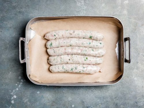Chicken and Parmesan Sausages