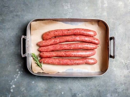 Grass Fed Beef Thin Sausages