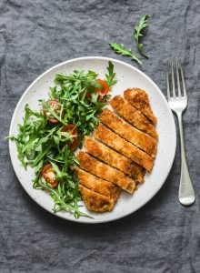 Herbed Lemon Chicken Schnitzel Recipe